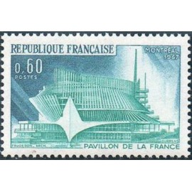 France Yvert Num 1519 ** Montreal  1967