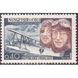 France Yvert Num 1523 ** Avion  1967