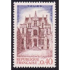 France Yvert Num 1525 ** Tours  1967