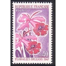 France Yvert Num 1528 ** Floralies D Orleans  1967