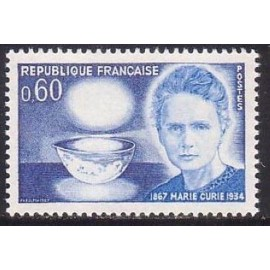 France Yvert Num 1533 ** Marie Curie  1967