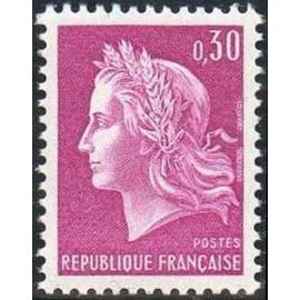 France Yvert Num 1536 ** Cheffer  1967