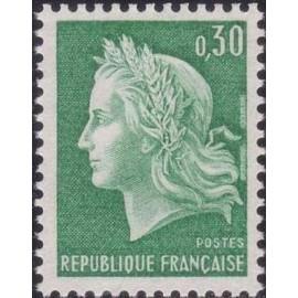 France Yvert Num 1536A ** Cheffer  1967