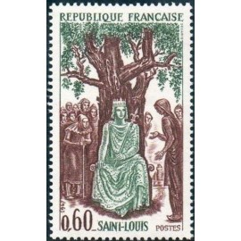 France Yvert Num 1539 ** Louis IX  1967