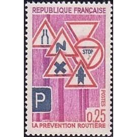 France Yvert Num 1548 ** Prenvention Routière  1968