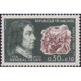 France Yvert Num 1551 ** Desaix  1968