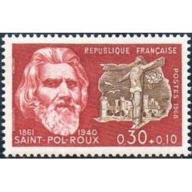 France Yvert Num 1552 ** Roux  1968