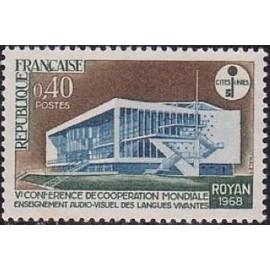 France Yvert Num 1554 **   1968