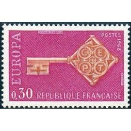 France Yvert Num 1556 ** Europa  1968