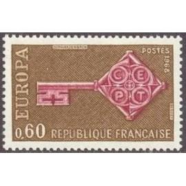 France Yvert Num 1557 ** Europa  1968