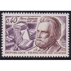 France Yvert Num 1560 ** Pierre Larousse  1968