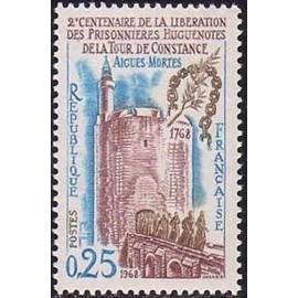 France Yvert Num 1566 ** Aigues Mortes  1968