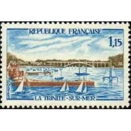 France Yvert Num 1585 ** Trinité sur Mer  1969