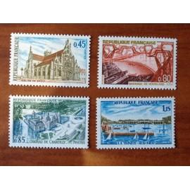 France Yvert Num 1582-1585 **   1969