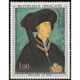 France Yvert Num 1587 ** Tableau Philippe III  1969