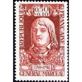 France Yvert Num 1591 ** Grl Maceau  1969