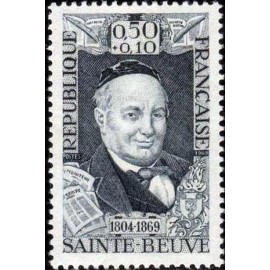 France Yvert Num 1592 ** St Beuve  1969