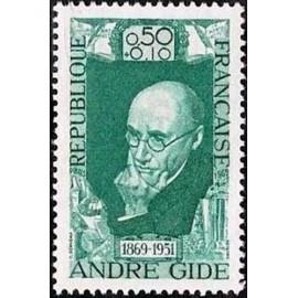 France Yvert Num 1594 ** André Gide  1969