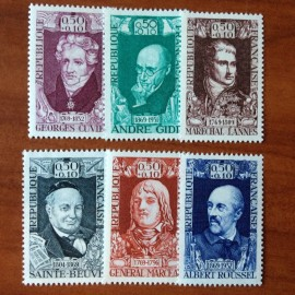 France Yvert Num 1590-1595 **   1969