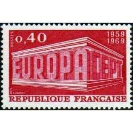 France Yvert Num 1598 ** Europa  1969