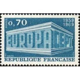 France Yvert Num 1599 ** Europa  1969