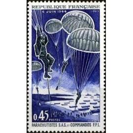 France Yvert Num 1603 ** Parachute  1969
