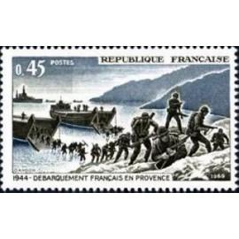France Yvert Num 1605 ** liberation  1969