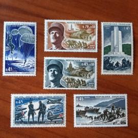 France Yvert Num 1603-1608 **   1969