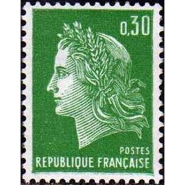 France Yvert Num 1611 ** Cheffer  1969