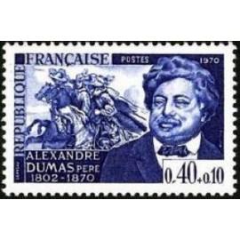 France Yvert Num 1628 ** Alexandre Dumas  1970