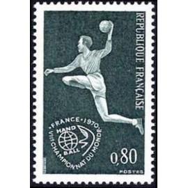 France Yvert Num 1629 ** HandBall  1970