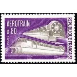 France Yvert Num 1631 ** Aerotrain  1970