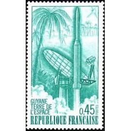 France Yvert Num 1635 ** Fusée  1970