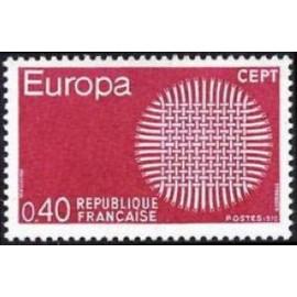 France Yvert Num 1637 ** Europa  1970