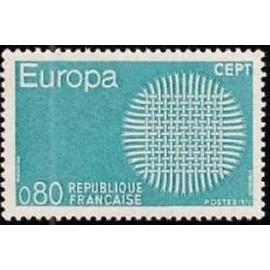 France Yvert Num 1638 ** Europa  1970