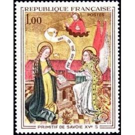 France Yvert Num 1640 ** Tableau Savoie  1970