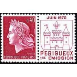 France Yvert Num 1643 ** Cheffer  1970