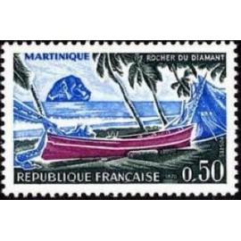France Yvert Num 1644 ** Martinique  1970