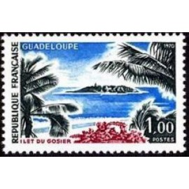 France Yvert Num 1646 ** Guadeloupe  1970