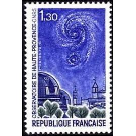 France Yvert Num 1647 ** Observatoire etoile  1970