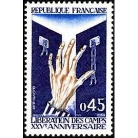 France Yvert Num 1648 ** Camps  1970