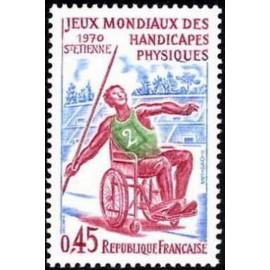 France Yvert Num 1649 ** Handicap  1970