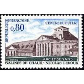 France Yvert Num 1651 ** Salines de Chaux  1970
