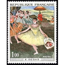 France Yvert Num 1653 ** Tableau Degas  1970