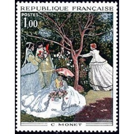France Yvert Num 1703 ** Tableaux Monet  1972