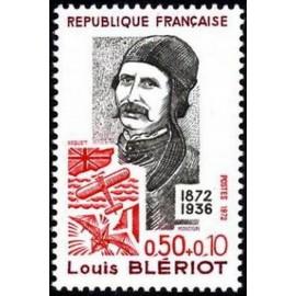 France Yvert Num 1709 ** L Bleriot  1972