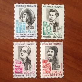 France Yvert Num 1706-1709 **   1972
