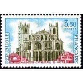 France Yvert Num 1713 ** Saint Just  1972