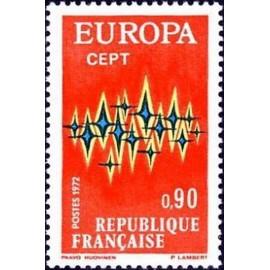 France Yvert Num 1715 ** Europa  1972