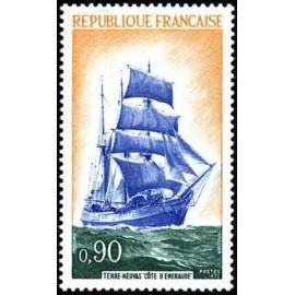 France Yvert Num 1717 ** Voiliers  1972